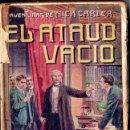 Libros antiguos: AVENTURAS DE NICK CARTER : EL ATAÚD VACÍO (GASSÓ, S.F.). Lote 155989690
