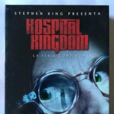 Libros antiguos: STEPHEN KING - HOSPITAL KINGDOM . LA SERIE COMPLETA 4 DVDS. Lote 156693786