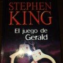 Libros antiguos: EL JUEGO DE GERALD. Lote 157252854