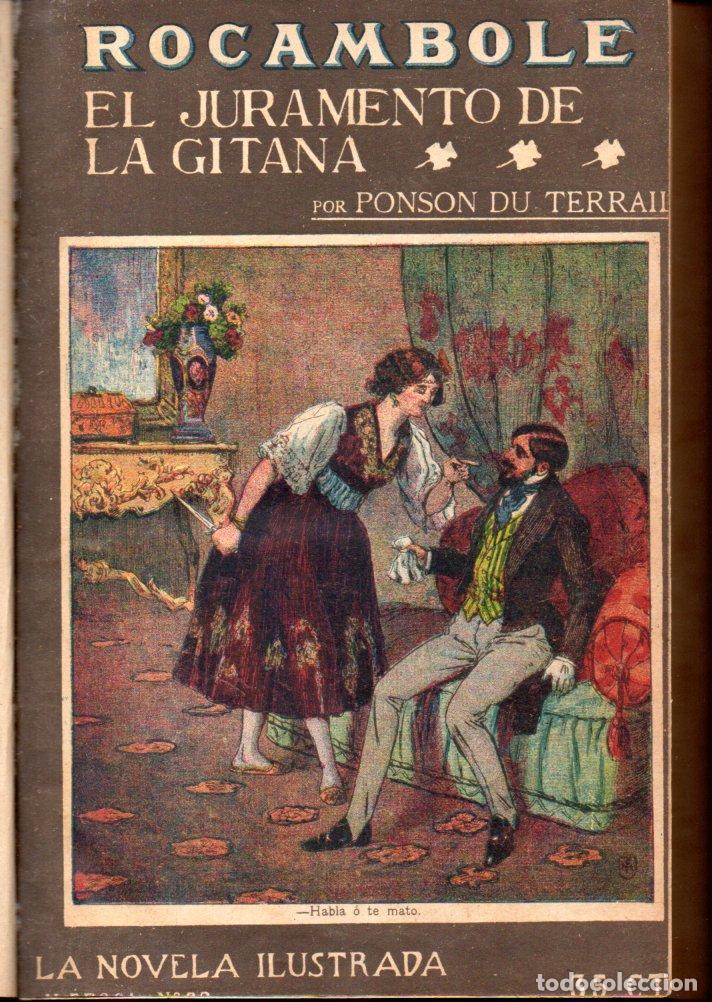 PONSON DU TERRAIL ROCAMBOLE - 5 NOVELAS (LA NOVELA ILUSTRADA, S.F.) (Libros antiguos (hasta 1936), raros y curiosos - Literatura - Terror, Misterio y Policíaco)