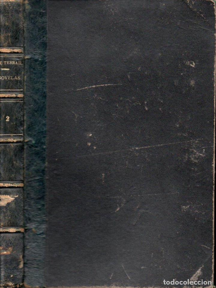 Libros antiguos: PONSON DU TERRAIL ROCAMBOLE - 5 NOVELAS (LA NOVELA ILUSTRADA, S.F.) - Foto 2 - 157907746