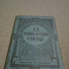 Libros antiguos: EL MONSERRATE. CRISTÓBAL DE VIRUÉS 1884 CRISTÓBAL DE VIRUÉS: EL MONSERRATE LA VERDADERA CIENCIA. Lote 159711198
