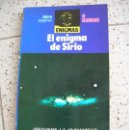 Libros antiguos: LIBRO DE P,GUIRAO EL ENIGMA DE SIRIO AÑO 1988 ILUSTRADO 181 PAGINAS. Lote 160410586