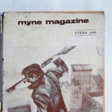 Libros antiguos: MYNE MAGAZINE, ENERO 1969. (REVISTA DE MISTERIO). Lote 160945150