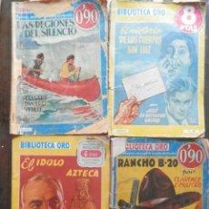 Libros antiguos: 10 NOVELAS ANTIGUAS DE BIBLIOTECA DE ORO 1943 EDITORIAL MOLINO. VER TODOS LOS TÍTULOS EN DESCRIPCIÓN. Lote 161114750