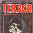 Libros antiguos: TERROR ANTOLOGÍA DE RELATOS DE ESPANTO Y TERROR. Lote 163448466