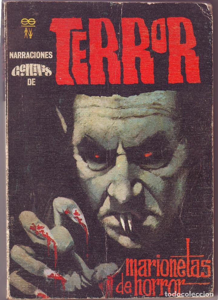 MARIONETAS DE HORROR NOVELA DE TERROR (Libros antiguos (hasta 1936), raros y curiosos - Literatura - Terror, Misterio y Policíaco)