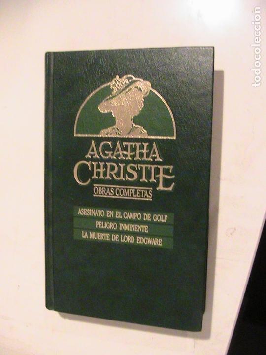 AGATHA CHRISTIE. OBRAS COMPLETAS V. (Libros antiguos (hasta 1936), raros y curiosos - Literatura - Terror, Misterio y Policíaco)