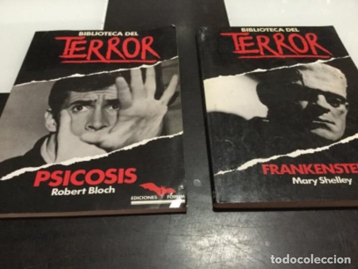 BIBLIOTECA DEL TERROR 1 Y 2 EDICIONES FORUM (Libros antiguos (hasta 1936), raros y curiosos - Literatura - Terror, Misterio y Policíaco)