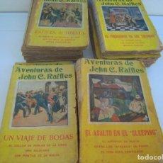 Libros antiguos: LOTE DE 14 DE AVENTURAS DE JOHN C. RAFFLES. Lote 165879938