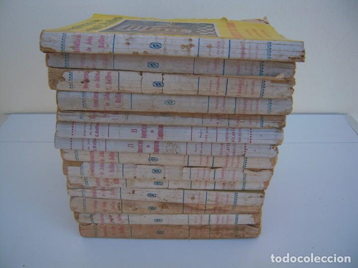 Libros antiguos: lote de 14 de aventuras de john c. raffles - Foto 4 - 165879938