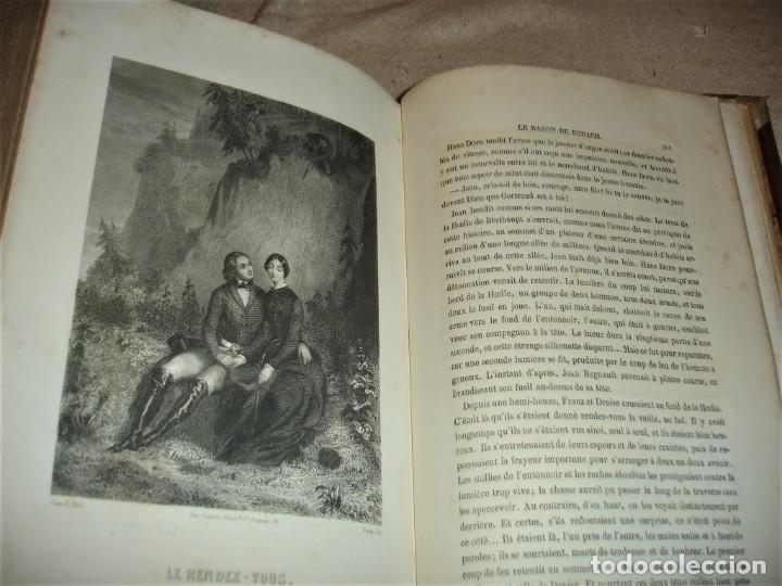 Libros antiguos: Oeuvres choisies de Paul Feval, Le Fils Du Diable - Foto 14 - 166057502