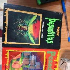 Libros antiguos: 2 LIBROS PESADILLAS R. L. STINE TAPA BLANDA. Lote 166092286