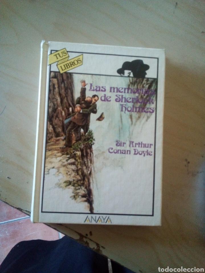 LAS MEMORIAS DE SHERLOCK HOLMES 1A EDICION TUS LIBROS ANAYA (Libros antiguos (hasta 1936), raros y curiosos - Literatura - Terror, Misterio y Policíaco)