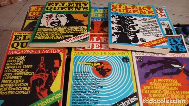 8 ELLERY QUEENS MAGAZINE DE MISTERIO 1976, NUMEROS 3,4,5,6,7,8,9,11,LOS MEJORES RELATOS POLICIACOS D (Libros antiguos (hasta 1936), raros y curiosos - Literatura - Terror, Misterio y Policíaco)