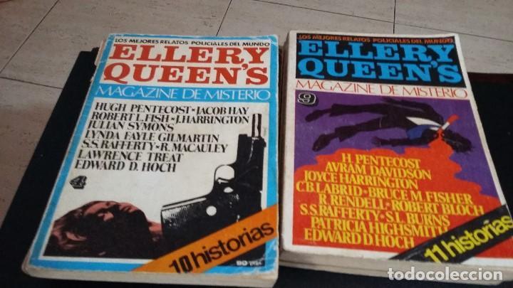 Libros antiguos: 8 ELLERY QUEENS MAGAZINE DE MISTERIO 1976, NUMEROS 3,4,5,6,7,8,9,11,LOS MEJORES RELATOS POLICIACOS D - Foto 2 - 168296060