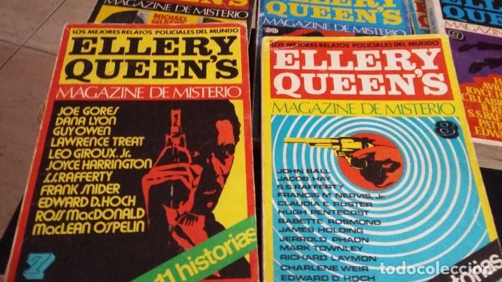 Libros antiguos: 8 ELLERY QUEENS MAGAZINE DE MISTERIO 1976, NUMEROS 3,4,5,6,7,8,9,11,LOS MEJORES RELATOS POLICIACOS D - Foto 3 - 168296060