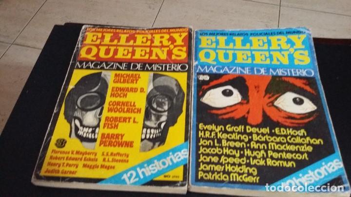 Libros antiguos: 8 ELLERY QUEENS MAGAZINE DE MISTERIO 1976, NUMEROS 3,4,5,6,7,8,9,11,LOS MEJORES RELATOS POLICIACOS D - Foto 5 - 168296060