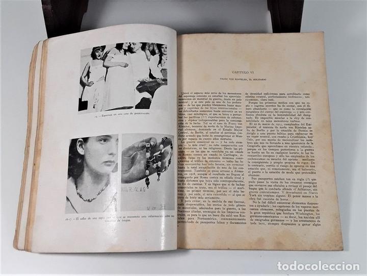 Libros antiguos: ESPÍAS. MATEO MILLE. EDIT. JOAQUÍN GIL. BARCELONA. 1935. - Foto 5 - 168416840