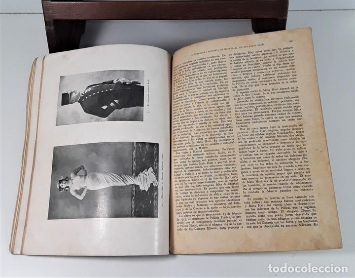 Libros antiguos: ESPÍAS. MATEO MILLE. EDIT. JOAQUÍN GIL. BARCELONA. 1935. - Foto 6 - 168416840