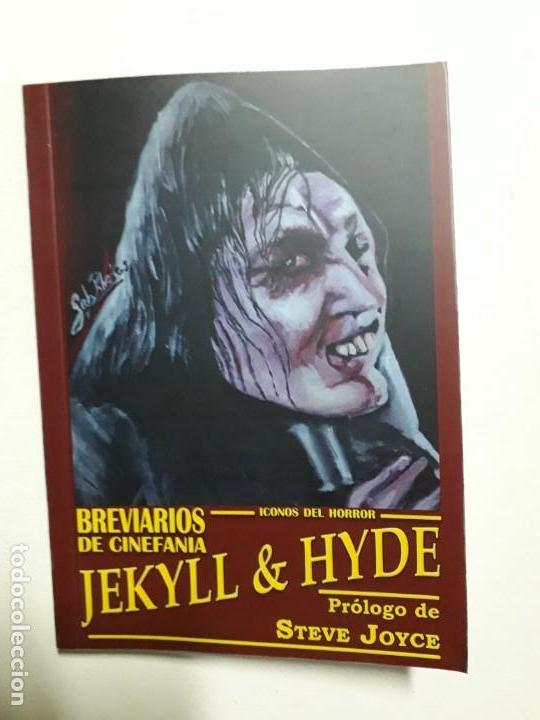 JEKYLL & HYDE - ÍCONOS DEL HORROR - ESPECTACULAR BREVIARIOS DE CINEFANIA - ARGENTINA (Libros antiguos (hasta 1936), raros y curiosos - Literatura - Terror, Misterio y Policíaco)