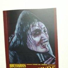 Libros antiguos: NUEVO! - ÍCONOS DEL HORROR - JEKYLL & HYDE - ESPECTACULAR BREVIARIOS DE CINEFANIA - ARGENTINA. Lote 169358592