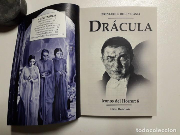 Libros antiguos: ÍCONOS DEL HORROR! - DRÁCULA - COLECCION BREVIARIOS DE CINEFANIA Nº 6 - ARGENTINA - Foto 2 - 169358601