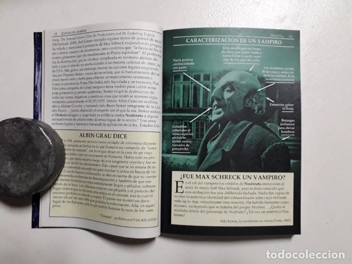 Libros antiguos: ÍCONOS DEL HORROR! - DRÁCULA - COLECCION BREVIARIOS DE CINEFANIA Nº 6 - ARGENTINA - Foto 3 - 169358601