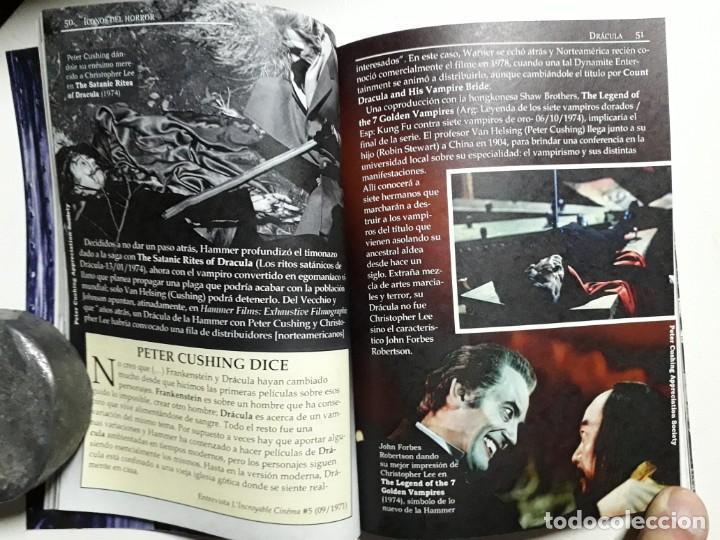 Libros antiguos: ÍCONOS DEL HORROR! - DRÁCULA - COLECCION BREVIARIOS DE CINEFANIA Nº 6 - ARGENTINA - Foto 4 - 169358601
