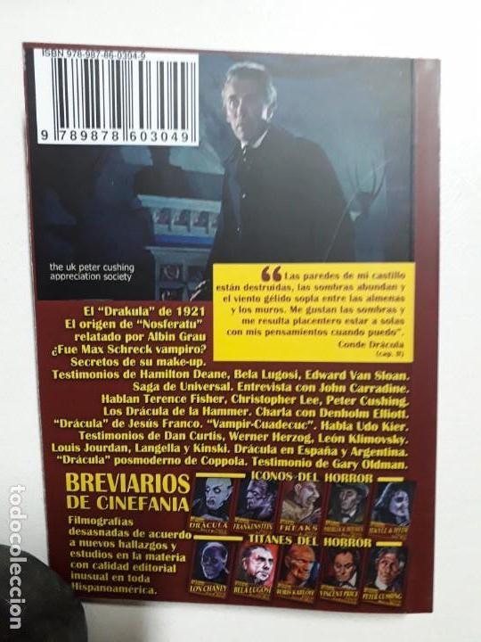Libros antiguos: ÍCONOS DEL HORROR! - DRÁCULA - COLECCION BREVIARIOS DE CINEFANIA Nº 6 - ARGENTINA - Foto 5 - 169358601