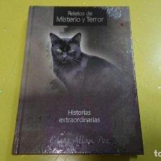 Libros antiguos: RELATOS DE MISTERIO Y TERROR - HISTORIAS EXTRAORDINARIAS - EDGAR ALLAN POE - PRECINTADO NUEVO . Lote 170311692