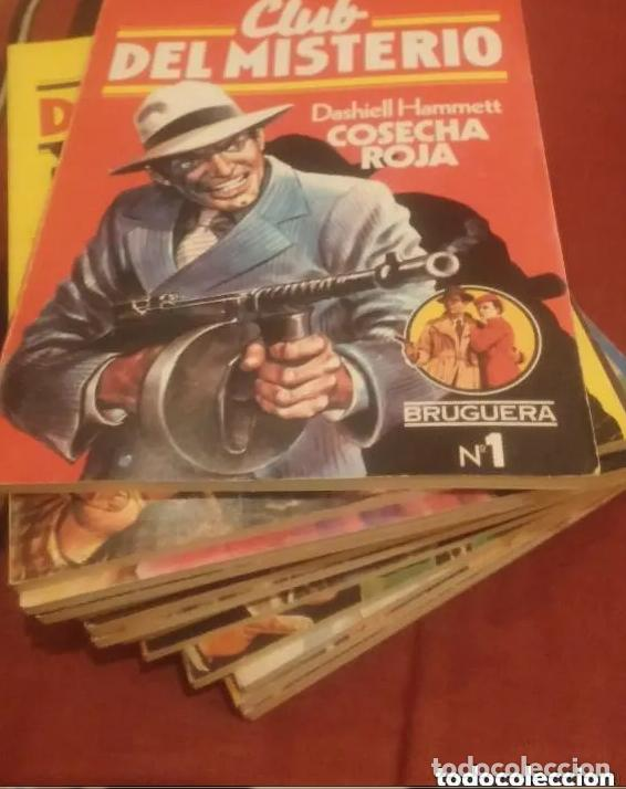 CLUB DEL MISTERIO LOTE 73 NUMEROS (Libros antiguos (hasta 1936), raros y curiosos - Literatura - Terror, Misterio y Policíaco)