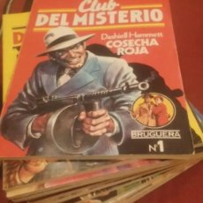 Libros antiguos: CLUB DEL MISTERIO LOTE 73 NUMEROS. Lote 171198005
