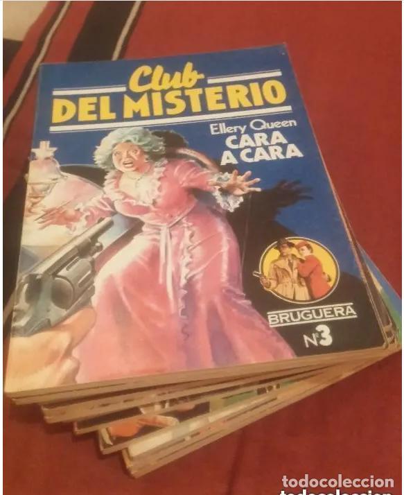 Libros antiguos: CLUB DEL MISTERIO LOTE 73 NUMEROS - Foto 2 - 171198005