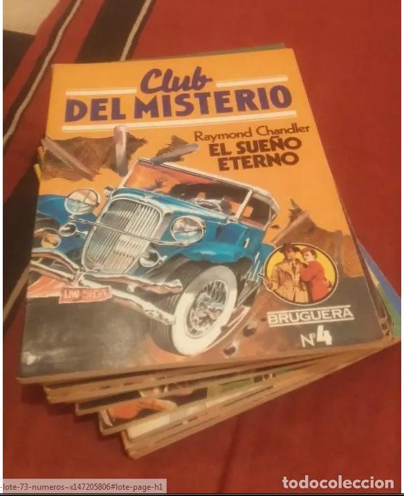 Libros antiguos: CLUB DEL MISTERIO LOTE 73 NUMEROS - Foto 3 - 171198005