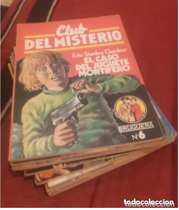 Libros antiguos: CLUB DEL MISTERIO LOTE 73 NUMEROS - Foto 5 - 171198005