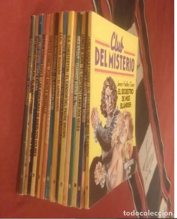 Libros antiguos: CLUB DEL MISTERIO LOTE 73 NUMEROS - Foto 6 - 171198005