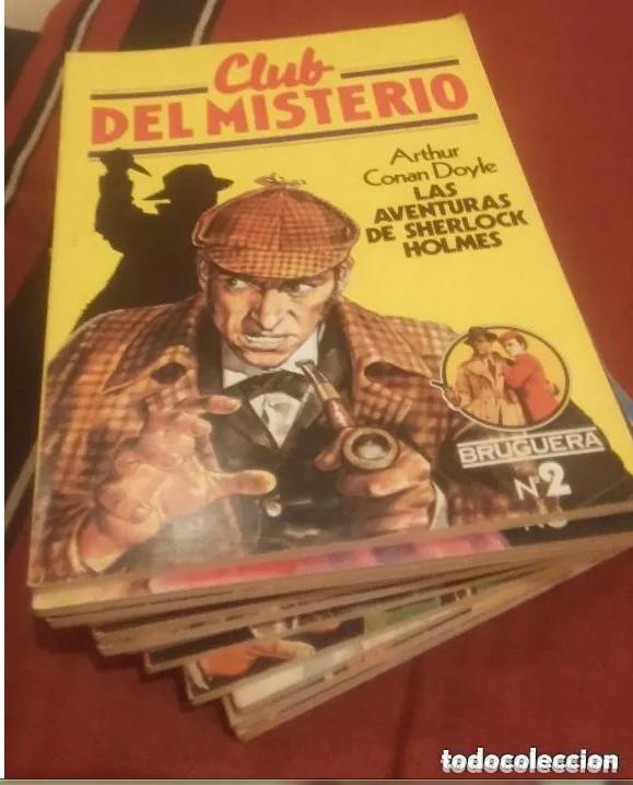 Libros antiguos: CLUB DEL MISTERIO LOTE 73 NUMEROS - Foto 7 - 171198005