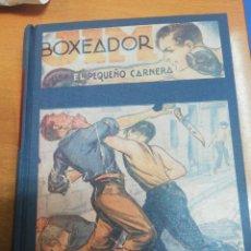 Libros antiguos: JIM BOXEADOR. EL PEQUEÑO CARNERA. FOLLETÍN COMPLETO. Lote 171516827