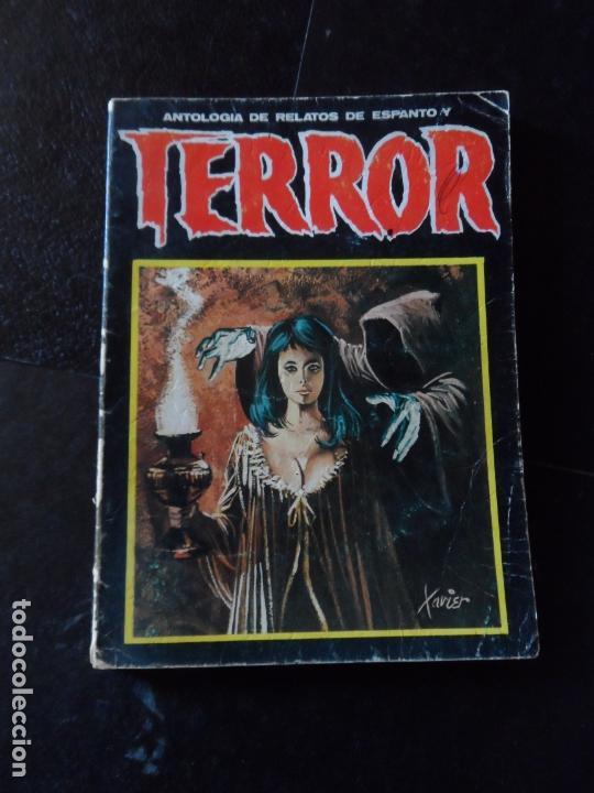 RELATOS DE ESPANTO Y TERROR Nº 21 - EDICIONES DRONTE 1974 LIBROS DE SEGUNDA MANO (POSTERIORES A 193 (Libros antiguos (hasta 1936), raros y curiosos - Literatura - Terror, Misterio y Policíaco)