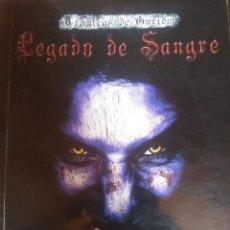 Libros antiguos: LEGADO DE SANGRE. Lote 172073448