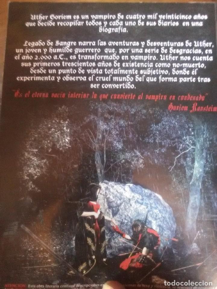 Libros antiguos: Legado de Sangre - Foto 2 - 172073448