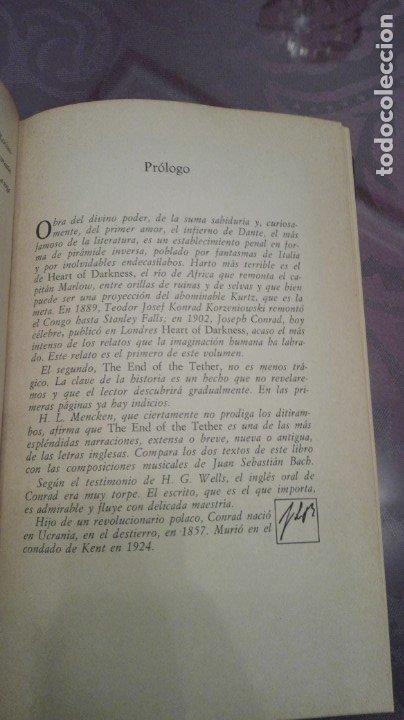 Libros antiguos: Joshep Conrad - Foto 4 - 172881362