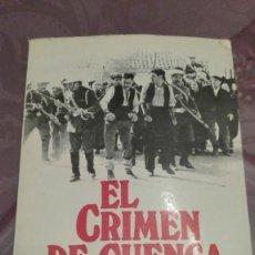 Libros antiguos: EL CRIMEN DE CUENCA. Lote 172898969