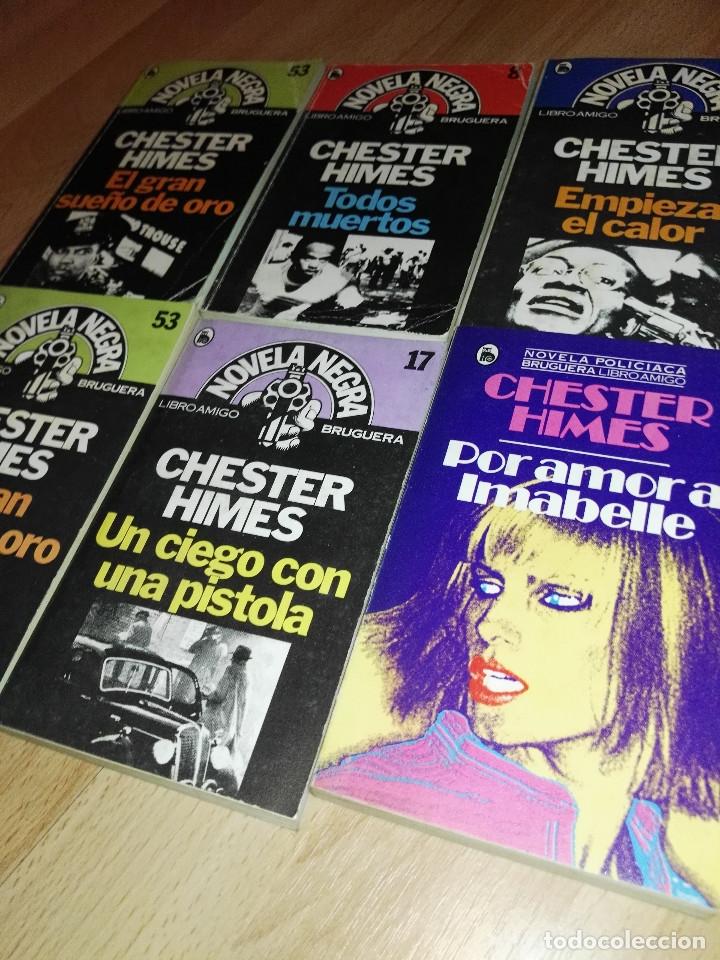 Libros antiguos: Lote de novela negra de Chester Himes, Bruguera - Foto 2 - 173158433