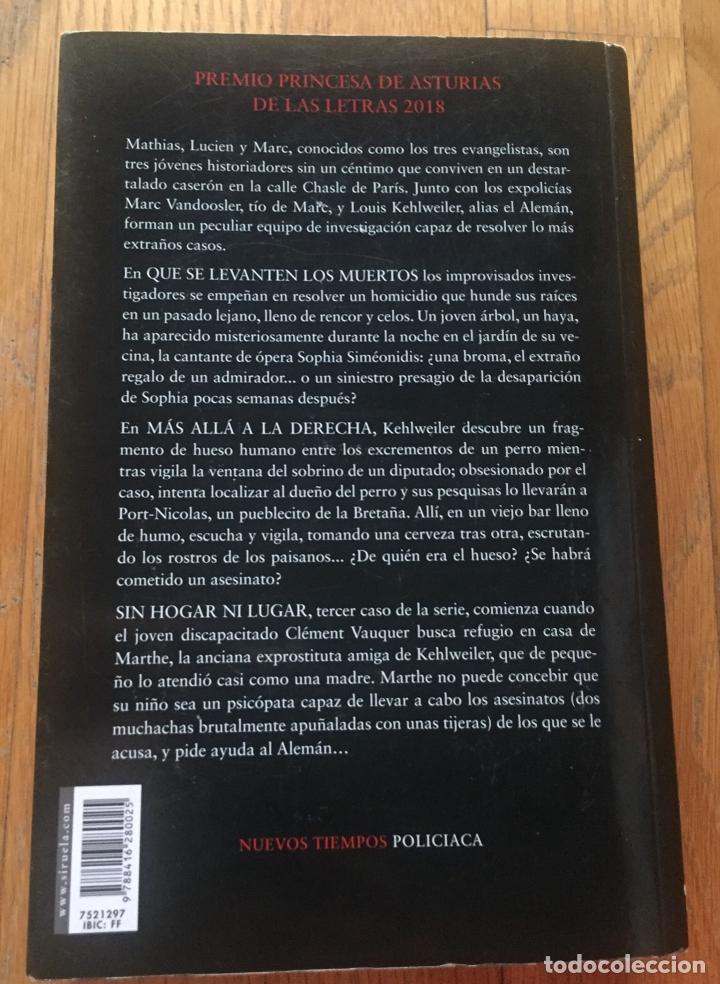 Libros antiguos: LOS TRES EVANGELISTAS, Fred Vargas - Foto 2 - 191706513