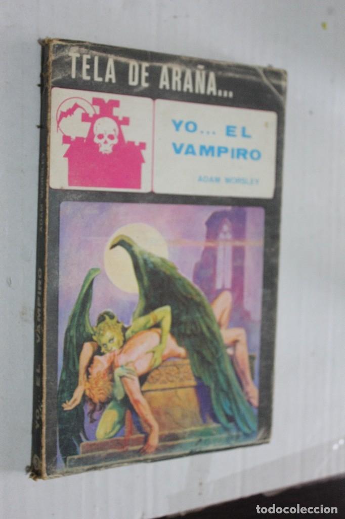 YO... EL VAMPIRO, TELA DE ARAÑA Nº 3, MAISAL ADAM WORSLEY (Libros antiguos (hasta 1936), raros y curiosos - Literatura - Terror, Misterio y Policíaco)