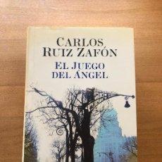 Libros antiguos: EL JUEGO DEL ANGEL- CARLOS RUIZ ZAFÓN. Lote 174313133