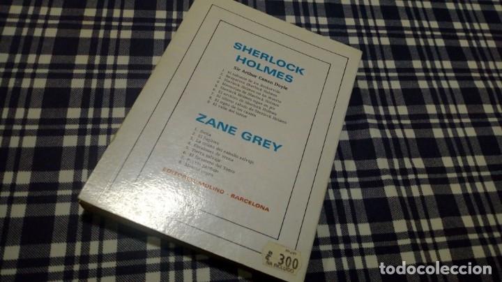 Libros antiguos: Sherlock Holmes no ha muerto Ed. Molino Excelente conservación - Foto 2 - 197466931