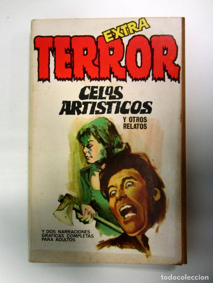 Libros antiguos: LOTE DE 21 EJEMPLARES TERROR (GEMINI) + LOTE DE 6 EXTRA TERROR (ROMEU). ILUSTRADOS. - Foto 2 - 174971044